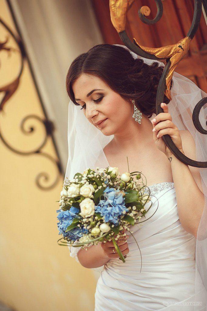 Фото 6823502 в коллекции Мои любимые и самые красивые невесты - Свадебный стилист-визажист Жанна Шевлякова