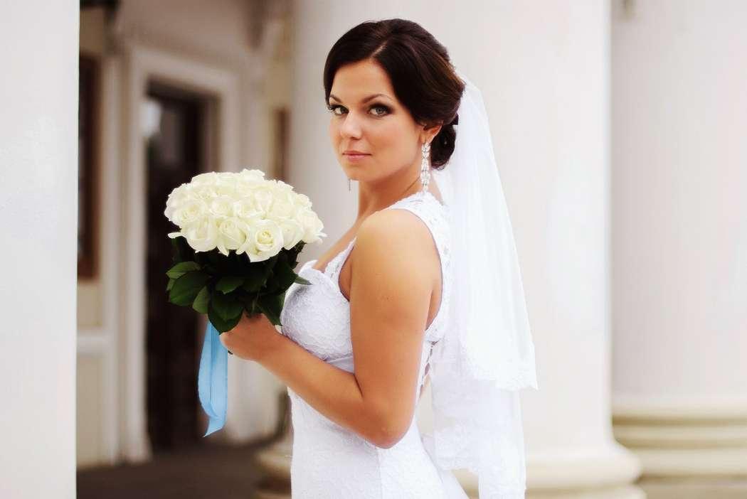 Фото 6823506 в коллекции Мои любимые и самые красивые невесты - Свадебный стилист-визажист Жанна Шевлякова