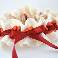 Подвязки невесты hand made