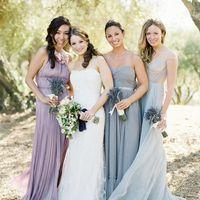 серые оттенки в цвете свадьбы