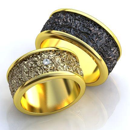 Обручальные кольца из золота 585 пробы