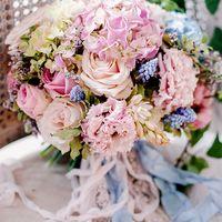 свадьба, свадебный букет, букет невесты, шелковые ленты, ленты ручной работы, букет