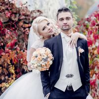 свадьба, свадебная фотосессия, выездная регистрация, сборы невесты, невеста, белый, фотограф, фотосессия, свадебная фотосессия, бутафория, белый, осень, оранжевый