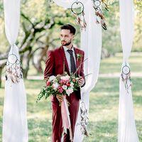 свадьба, свадебная фотосессия, выездная регистрация, сборы невесты, невеста, белый, фотограф, фотосессия, свадебная фотосессия, бутафория, белый, лето, бохо, фуксия, бордовый