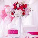 свадьба, оформление, фуксия, декор, шатер, свадьба в шатре, розовый