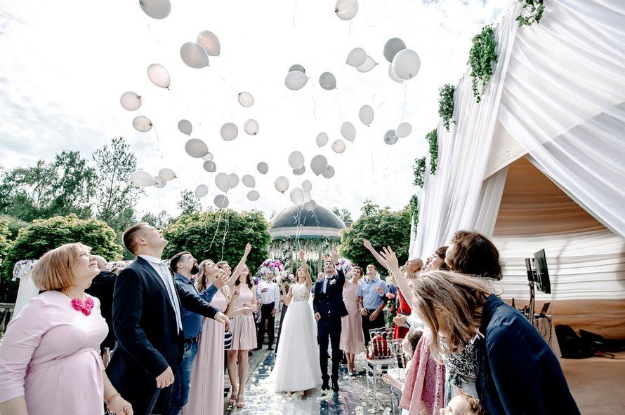 свадьба, шатер, банкет, зеркальная свадьба, белый, сиреневый, выездная регистрация, фотограф, свадебный фотограф, дворянское гнездо - фото 16451062 Маслова Виктория - фотограф