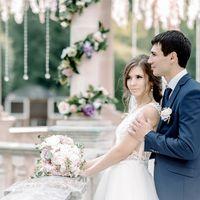 свадьба, выездная регистрация, классическая свадьба, романтик, белый, розовый, невеста, жених, фотограф