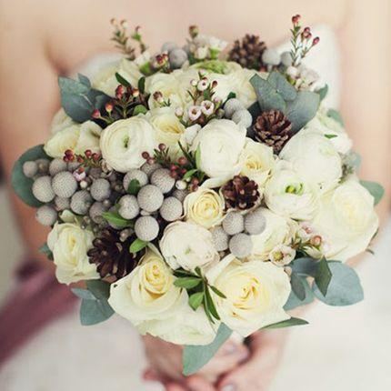 """Букет для невесты """"Зимний"""""""