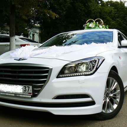 Свадебный автомобиль Hyindai Genesis