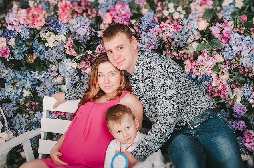 """Студийная семейная фотосъемка """"В ожидании чуда"""""""