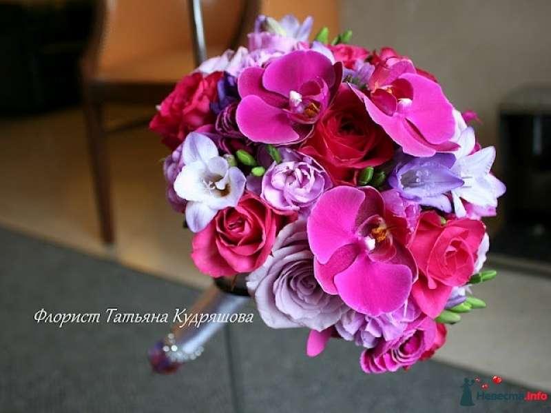 Букет для невесты Надежды - фото 399194 Цветочная мастерская Татьяны Кудряшовой