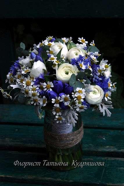 Букет невесты Анны - фото 508891 Цветочная мастерская Татьяны Кудряшовой