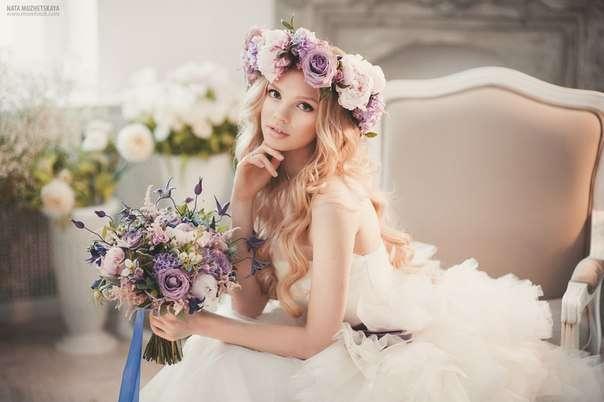 Сиреневый букет невесты - фото 2432215 Цветочная мастерская Татьяны Кудряшовой