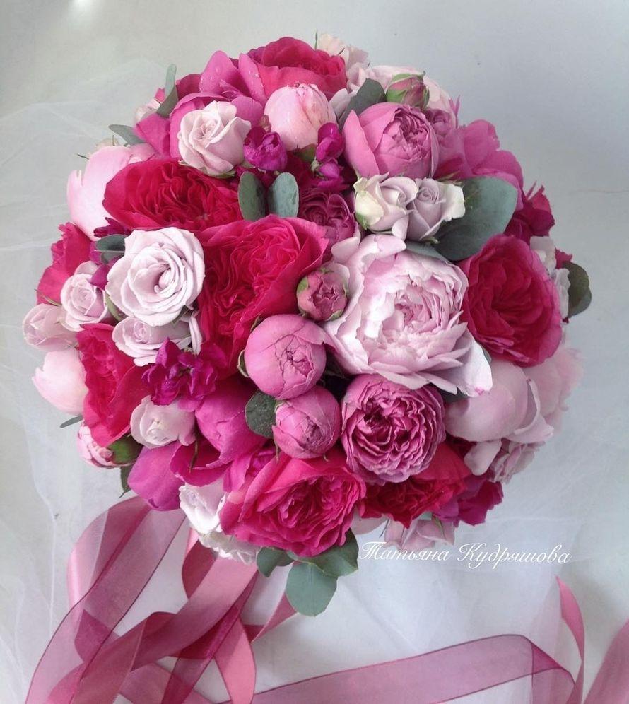Букет невесты из пионов - фото 17627592 Цветочная мастерская Татьяны Кудряшовой
