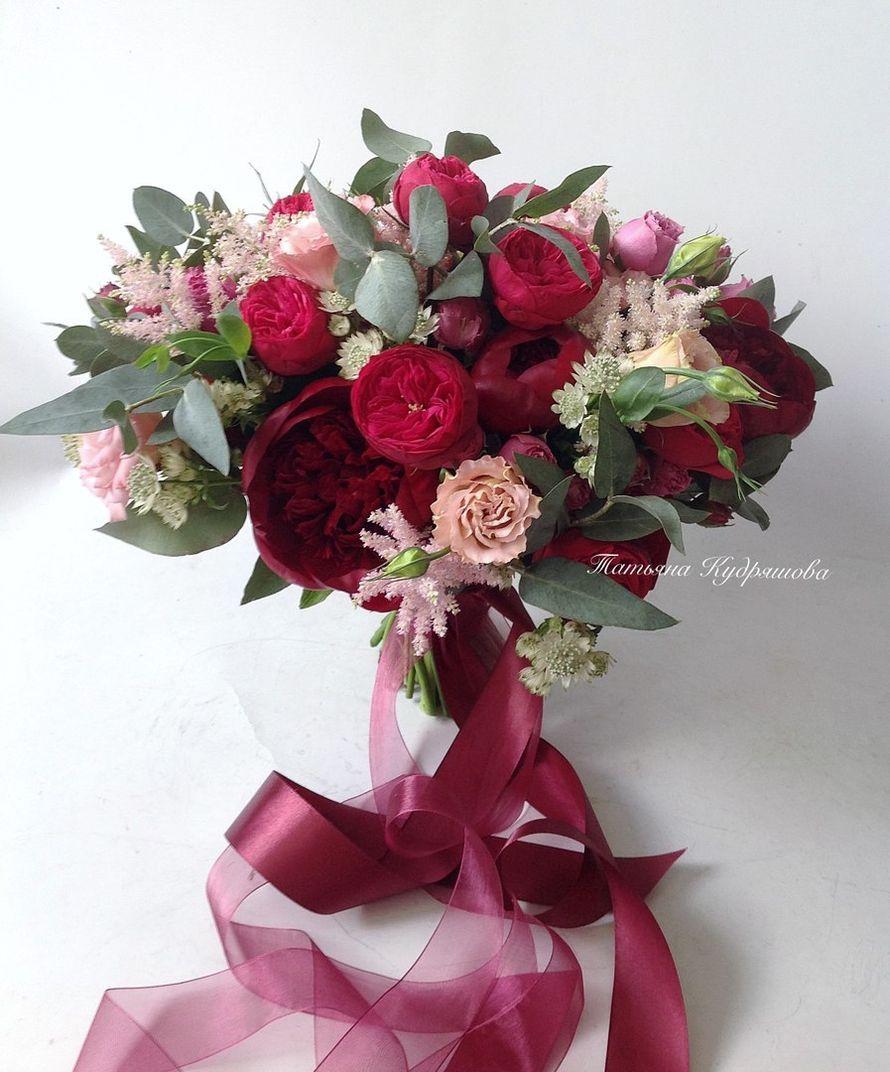 Букет невесты невесты - фото 17627594 Цветочная мастерская Татьяны Кудряшовой