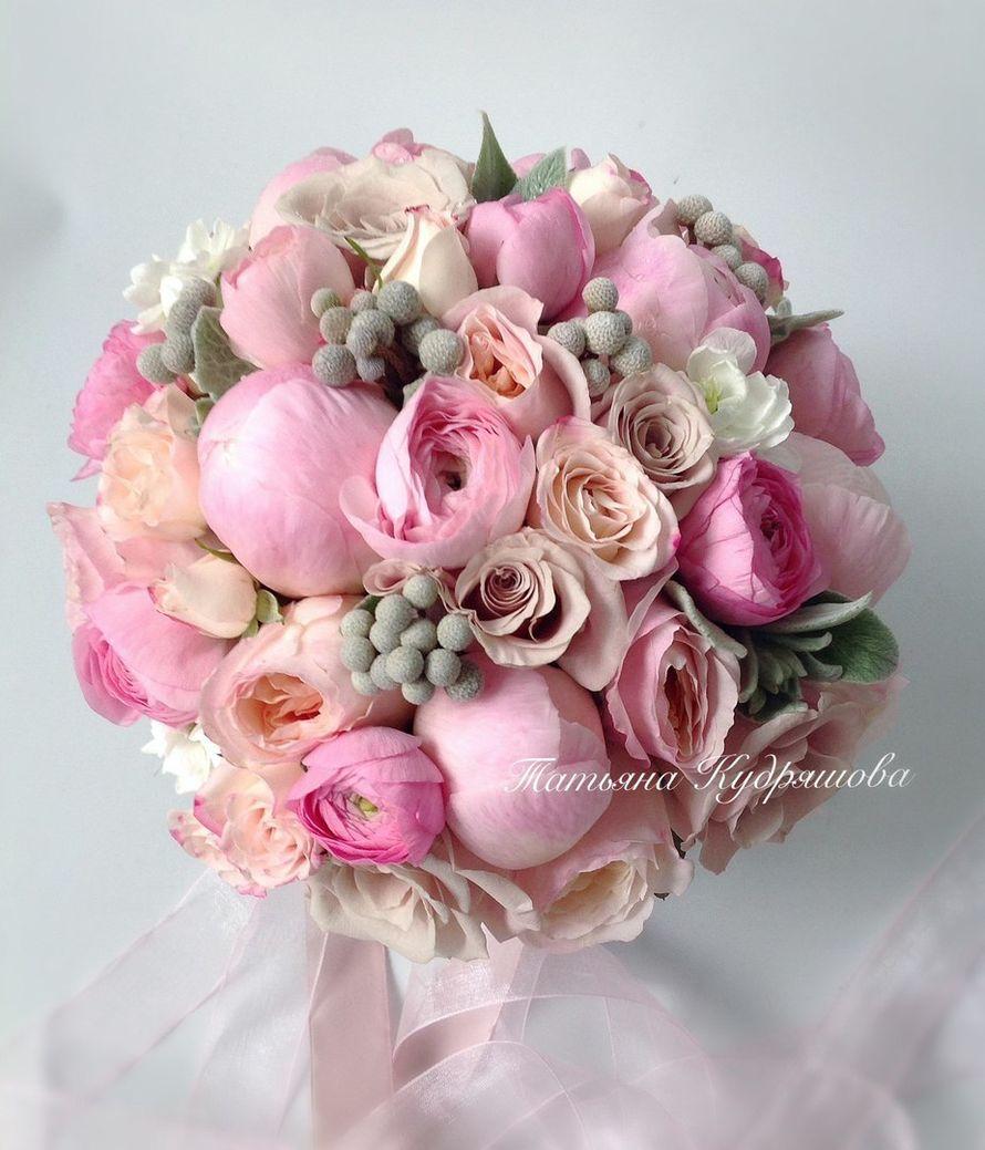 Букет невесты - фото 17627612 Цветочная мастерская Татьяны Кудряшовой