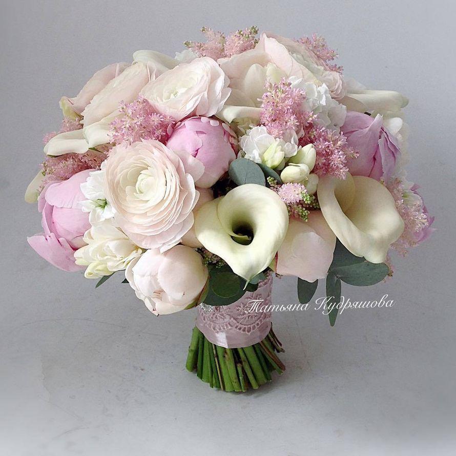 Букет невесты - фото 17627620 Цветочная мастерская Татьяны Кудряшовой