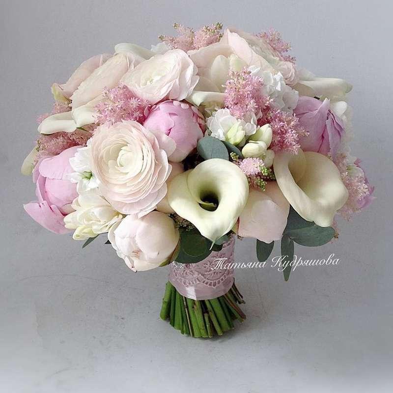 Букет невесты из пионовидных роз - фото 18457966 Цветочная мастерская Татьяны Кудряшовой