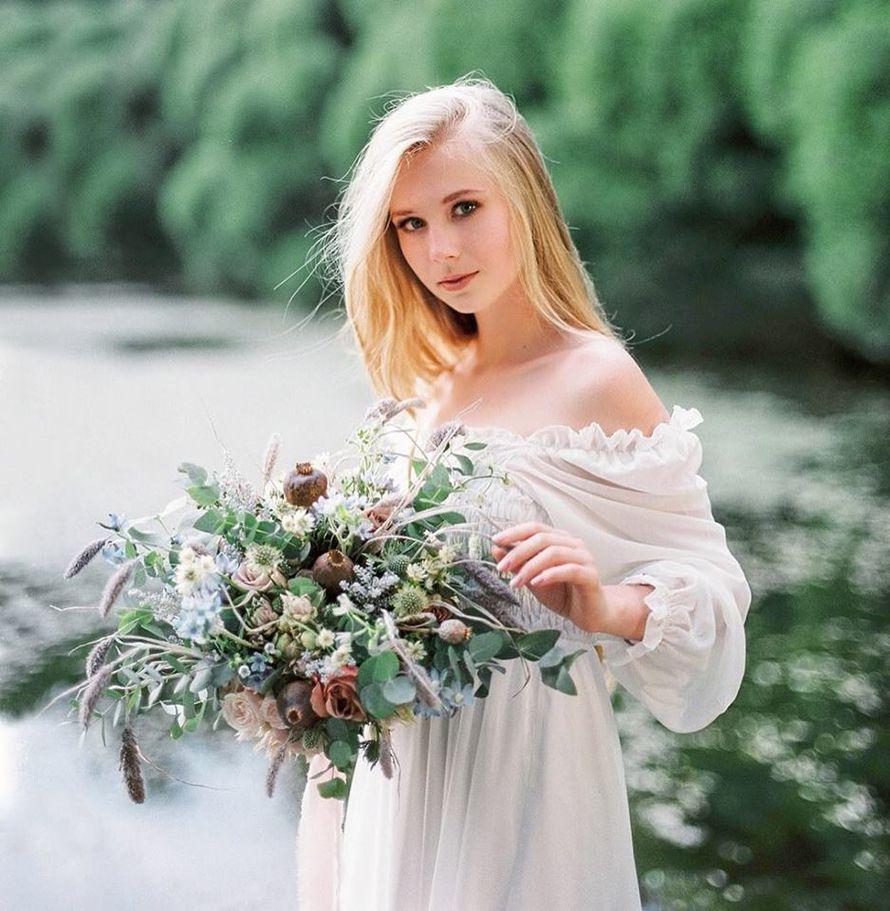 Букет невесты из пионовидных роз - фото 18457972 Цветочная мастерская Татьяны Кудряшовой