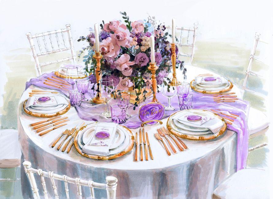 Свадьба на Амальфитанском побережье обрисовка декора - фото 17450646 Свадебное агентство Toutenrouge
