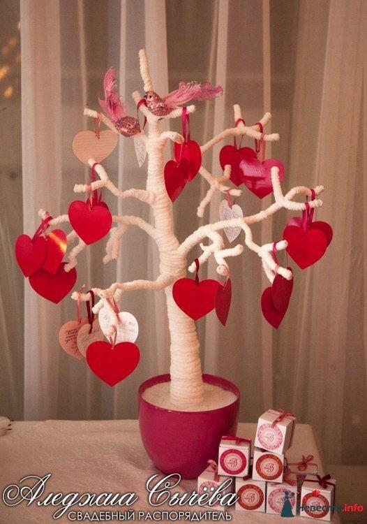 Дерево пожелание на свадьбу своими руками