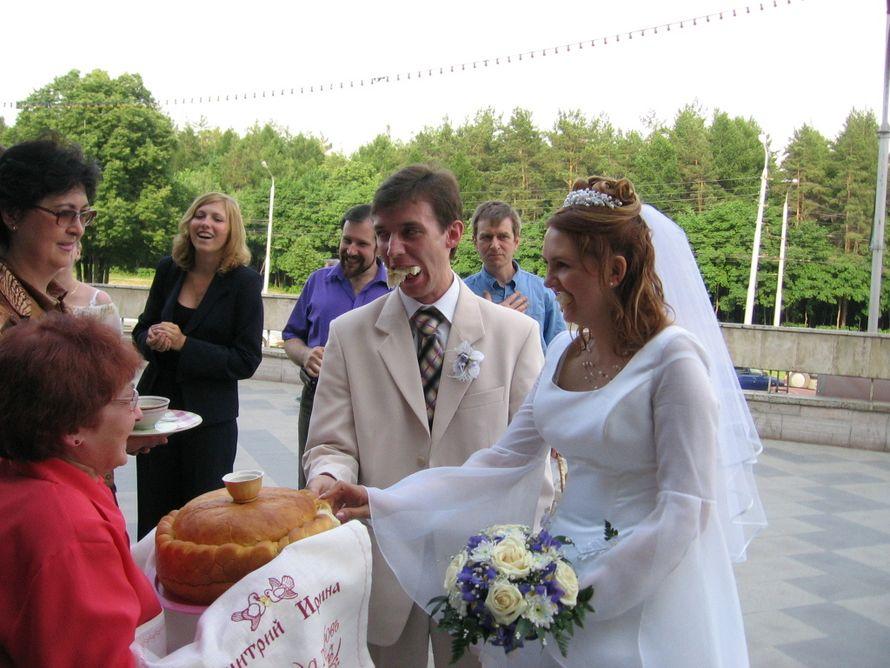 свадебный рушник из льна с вышивкой имен и даты свадьбы - фото 7310280 Фабрика Ришелье