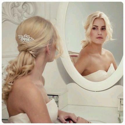 Свадебная прическа, макияж и репетиция