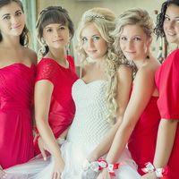 модель ТМ Only You Невеста и её подружки в красном