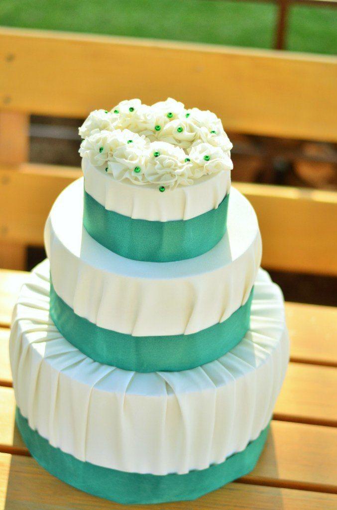 Торт для подарков. - фото 7402798 Оформление свадеб Flor de Liz