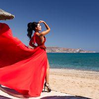 Фотограф на Крите: Александр Чальцев Стилист на Крите: Элина Захарова Платье: DressCrete