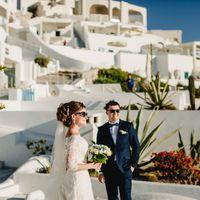 Свадебный стилист на Санторини: Элина Захарова Фотограф: Цветкова Юлия
