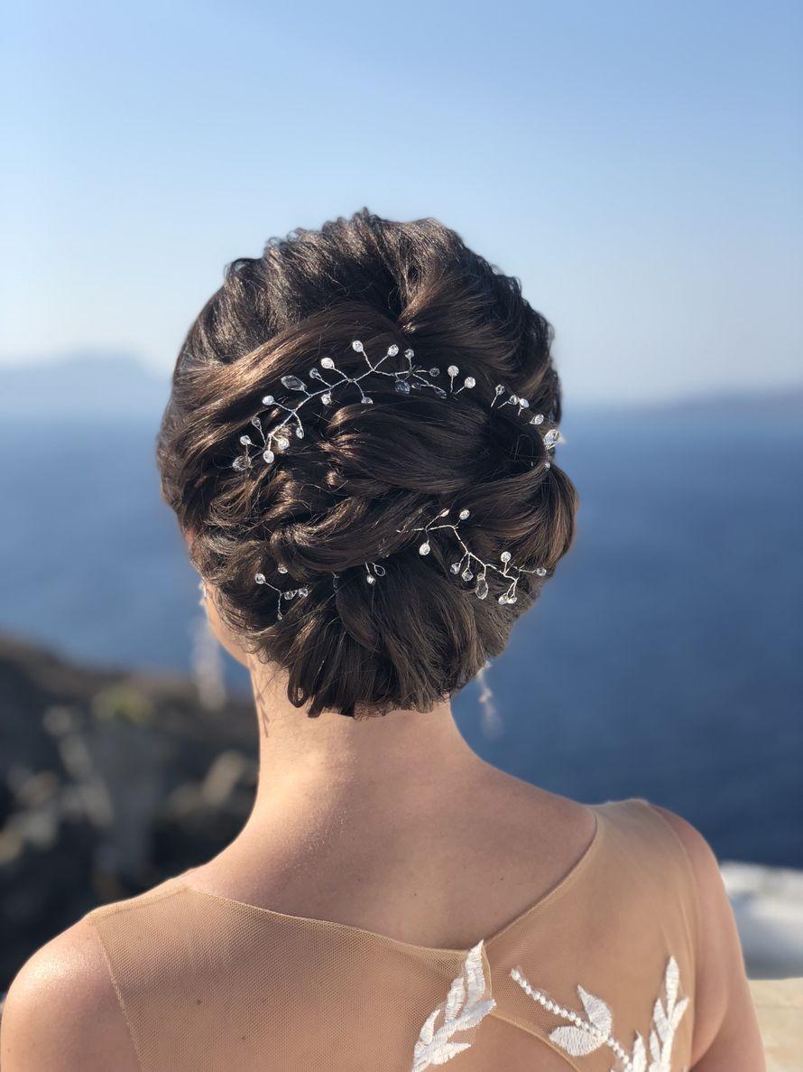 Свадьба на Санторини Макияж и прическа: Элина Захарова - фото 17974664 Невеста01