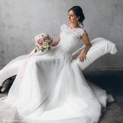 Свадебный образ от стилистов