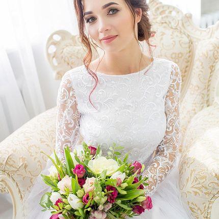 """Свадебный образ от стилистов """"Эконом"""""""