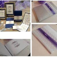 Книга пожеланий, папка для свидетельства о браке, пригласительные на свадьбу