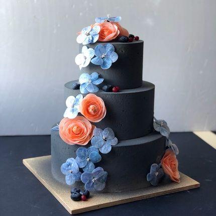 """Свадебный торт """"Велюр"""", 1 кг"""