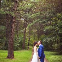 лесная свадьба, ботанический сад, фотосессия