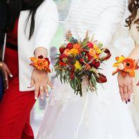 лакада, ресторан, выездная, арка, фотосессия с подружками, подружки невесты, букет невесты, браслеты для подружек