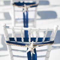 морская тема, морская свадьба, свадьба у воды, выездная регистрация, синий, морская звезда, стулья кьявари