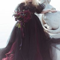 Ph: MilanxoliArt  Fl: Insomnia of Flowers, lab. Dress: Raven's Vision Dress  Model: Александра Астахова