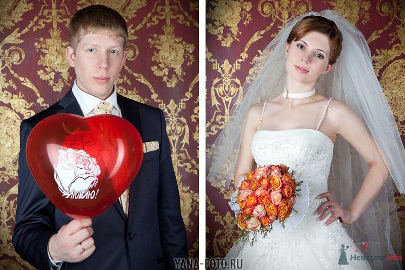зимняя свадьба Киры и Дмитрия - фото 75787 Фотограф Яна Роджерс