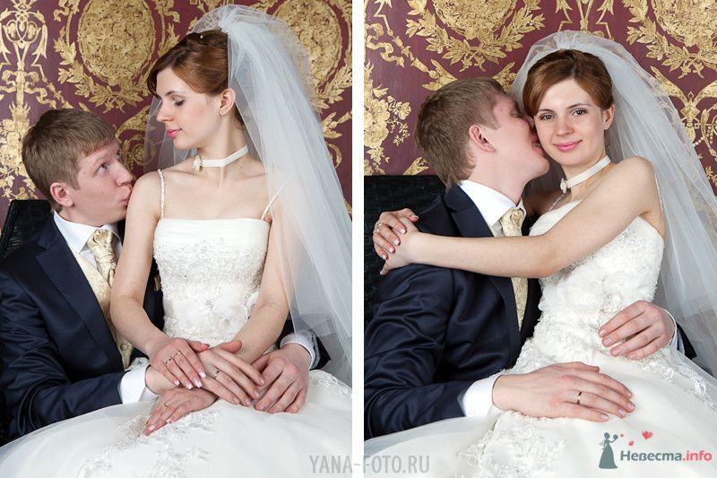 зимняя свадьба Киры и Дмитрия - фото 75794 Фотограф Яна Роджерс