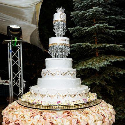 Свадебные шоу-торты