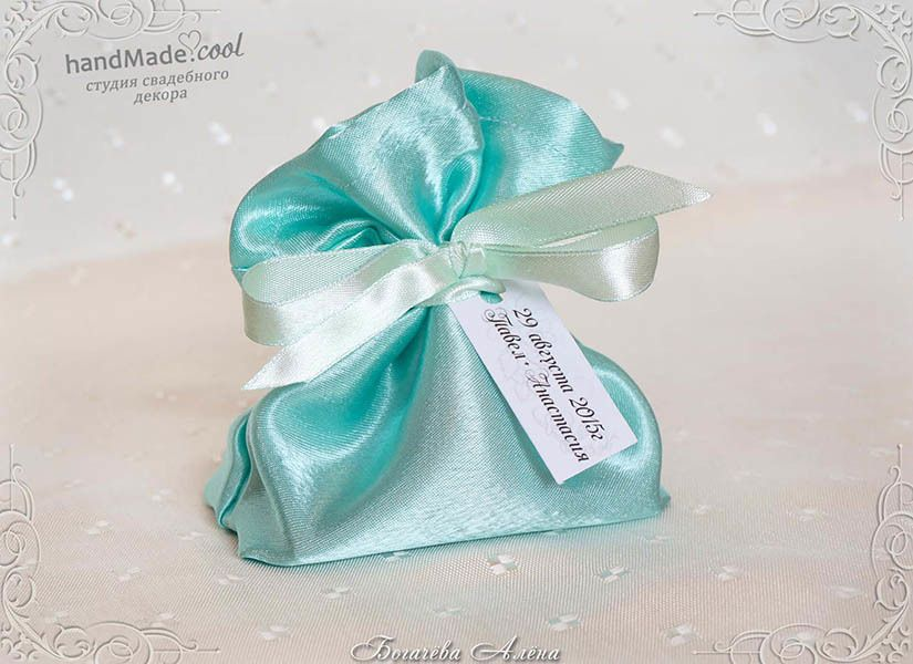 Свадебные бонбоньерки, подарки для гостей на свадьбе, ручная работа на заказ - фото 7676218 Студия свадебного декора Handmade