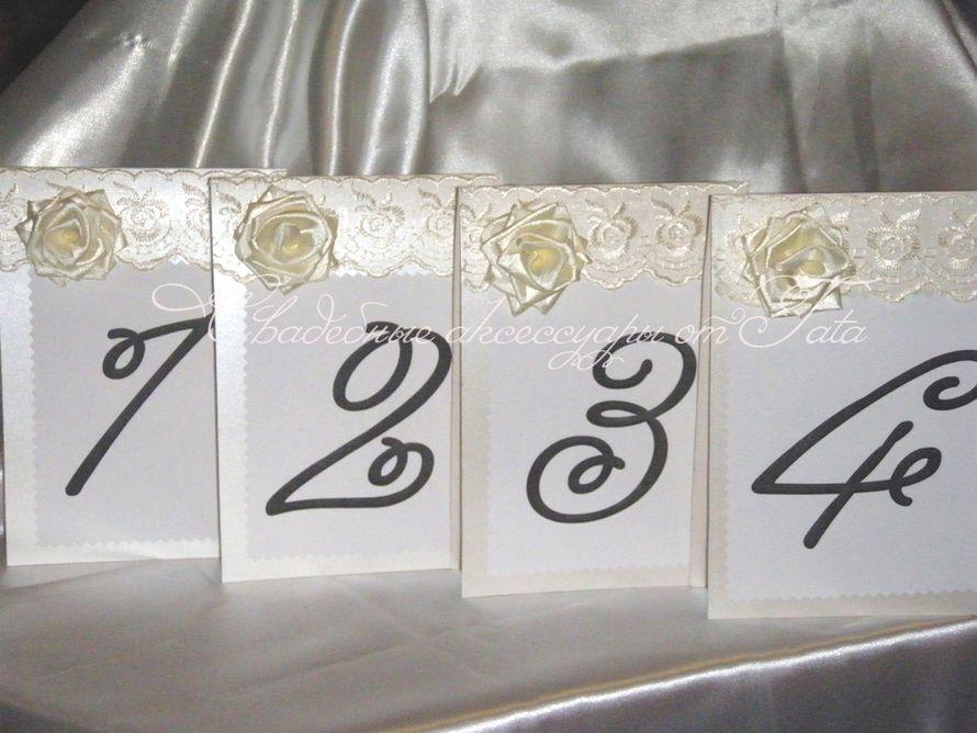 Фото 641671 в коллекции Всё для рассадки гостей - Свадебные аксессуары от Tata