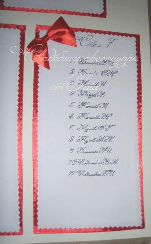 Фото 641683 в коллекции Всё для рассадки гостей - Свадебные аксессуары от Tata