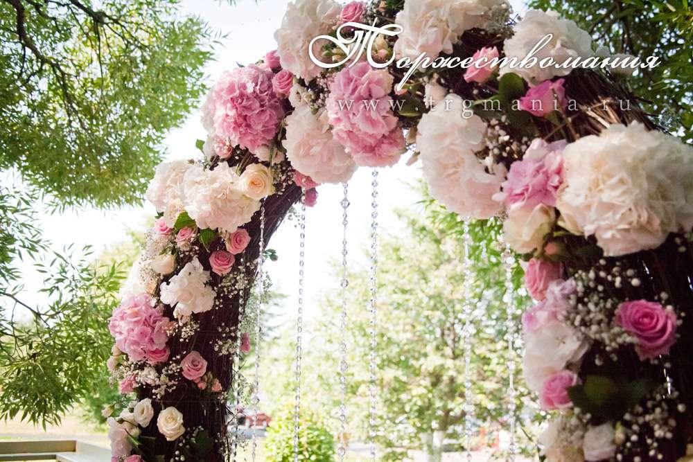 """свадебная арка из цветов - фото 2736273 Студия декора и флористики """"Торжествомания"""""""