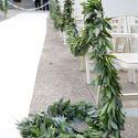 зеленые гирлянды свадебный тренд 2015