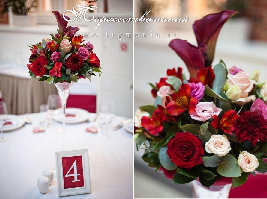 """Свадьба в цвете Марсала - фото 7340562 Студия декора и флористики """"Торжествомания"""""""