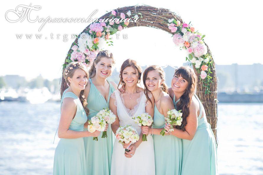 """невеста с подружками - фото 7509338 Студия декора и флористики """"Торжествомания"""""""